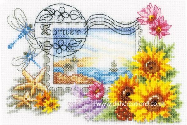 Summer Stamp Cross Stitch Kit